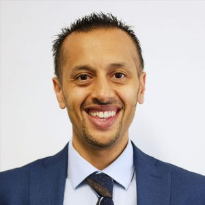 Photo of Mani Dhesi, Transformation Director at SDSmyhealthcare