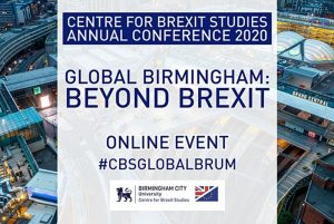 Centre for Brexit Studies annual conference moves online