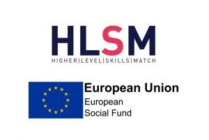 Higher Levels Skills Match and European Social Fund logos