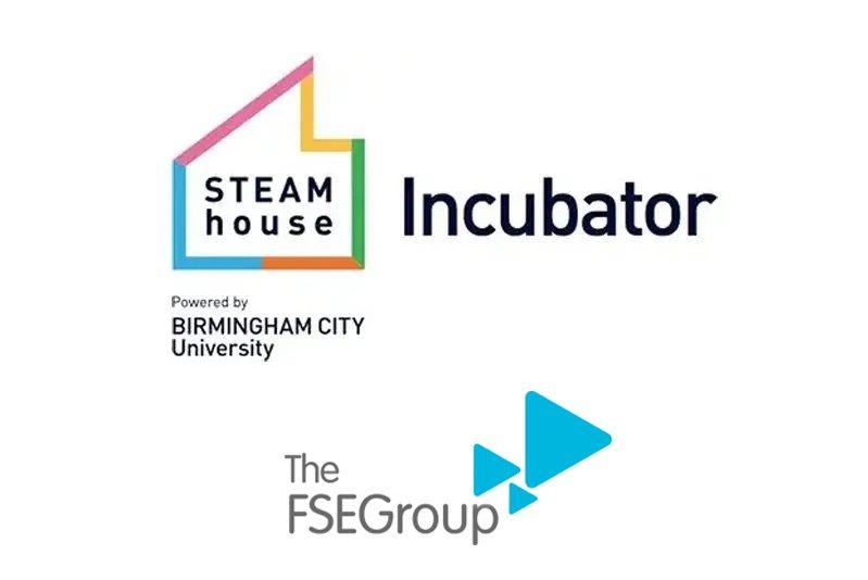STEAMhouse Incubator, FSE Group logos