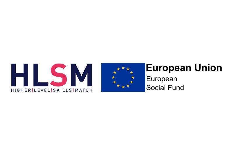 HLSM and European Social Fund Logos