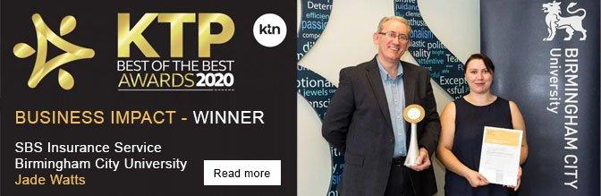 KTP Bes of the Best Awards 2020 - Business Impact Winner - SBS Insurance Service