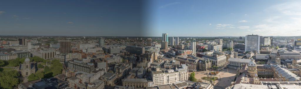 Photo of Birmingham City Centre skyline